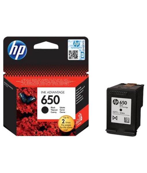 HP 650 Black INK Advantage