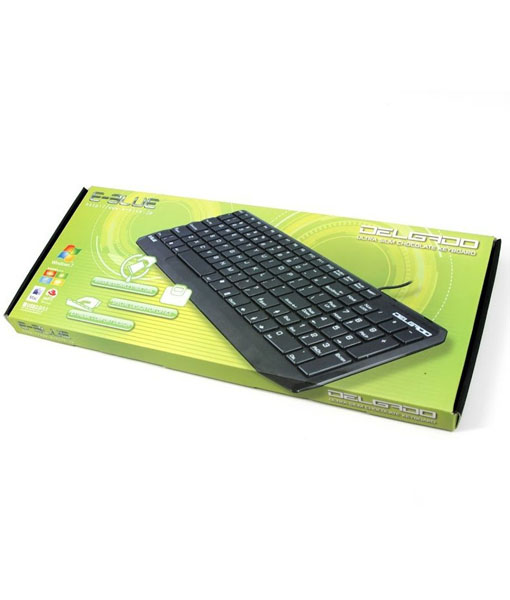 E-Blue Delgado Black Ultra Slim Keyboard